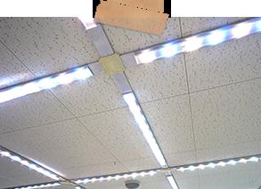LED照明取り換え